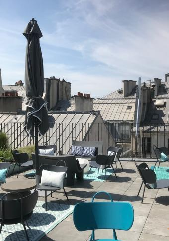 Drawing Hôtel - Rooftop